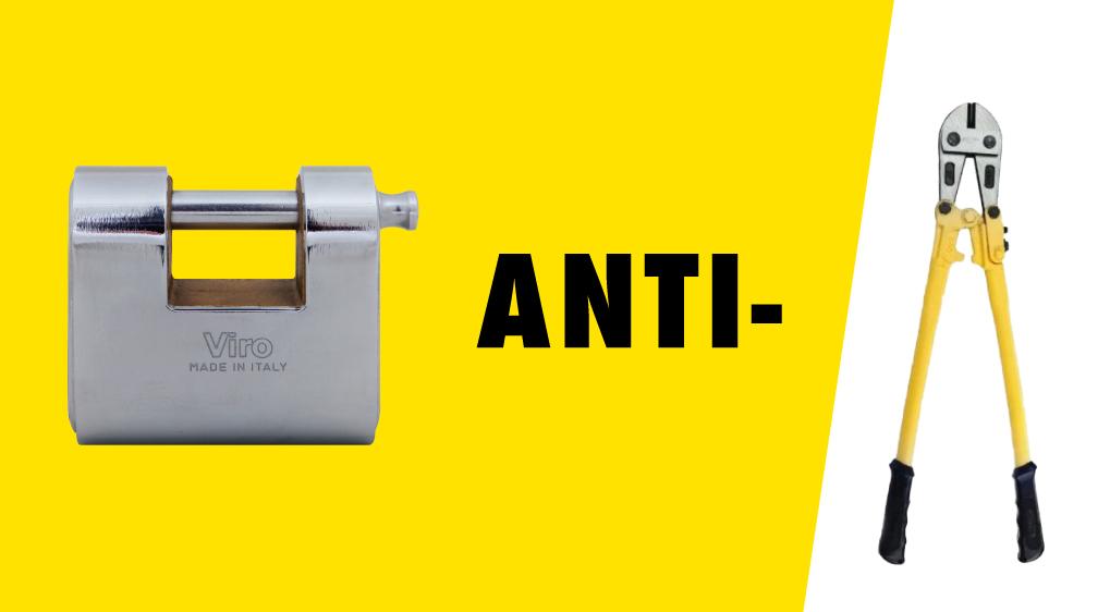 anti-cut padlock, anti-cut arch, anti-cut rod, shears, wire cutters