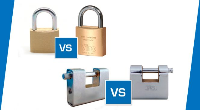 Viro Padlocks vs. Imported Padlocks