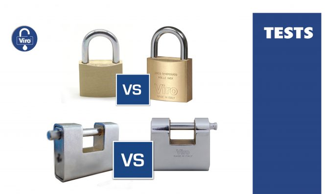 alt Spray and Cut and Impact Resistance Tests on Padlocks